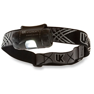 Underwater Kinetics Vizion 3AAA eLED Headlamp : Black